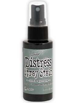 Tim Holtz Distress® Spray Stain Iced Spruce, 2oz Spray Stain Tim Holtz