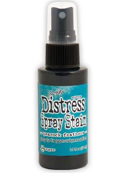 Tim Holtz Distress® Spray Stain Peacock Feathers, 2oz