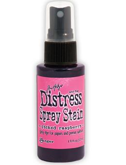 Tim Holtz Distress® Spray Stain Picked Raspberry, 2oz Spray Stain Tim Holtz