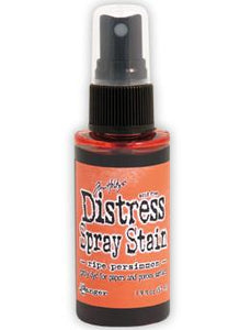 Tim Holtz Distress® Spray Stain Ripe Persimmon, 2oz Spray Stain Tim Holtz