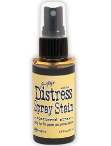 Tim Holtz Distress® Spray Stain Scattered Straw, 2oz Spray Stain Tim Holtz