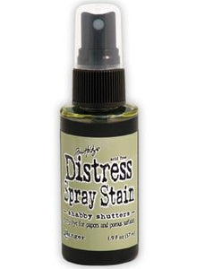 Tim Holtz Distress® Spray Stain Shabby Shutters, 2oz Spray Stain Tim Holtz