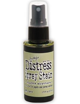 Tim Holtz Distress® Spray Stain Shabby Shutters, 2oz