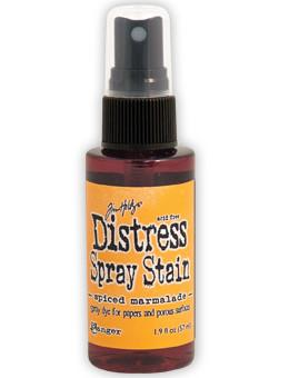 Tim Holtz Distress® Spray Stain Spiced Marmalade, 2oz