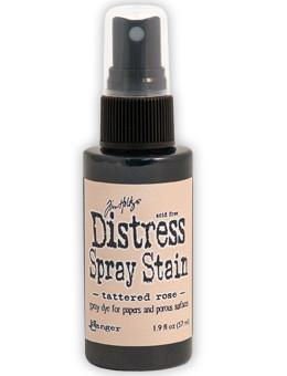Tim Holtz Distress® Spray Stain Tattered Rose, 2oz Spray Stain Tim Holtz