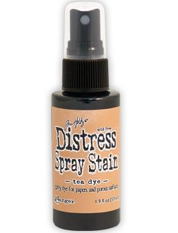 Tim Holtz Distress® Spray Stain Tea Dye, 2oz Spray Stain Tim Holtz