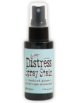 Tim Holtz Distress® Spray Stain Tumbled Glass, 2oz Spray Stain Tim Holtz