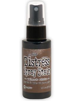 Tim Holtz Distress® Spray Stain Walnut Stain, 2oz Spray Stain Tim Holtz