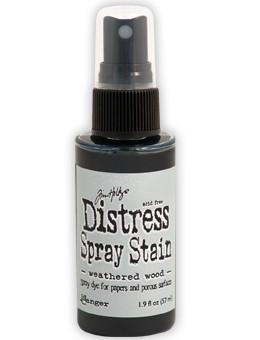 Tim Holtz Distress® Spray Stain Weathered Wood, 2oz Spray Stain Tim Holtz