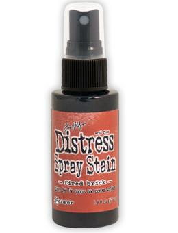 Tim Holtz Distress® Spray Stain Fired Brick, 2oz