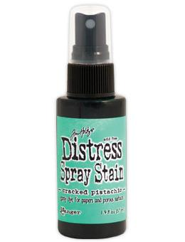 Tim Holtz Distress® Spray Stain Cracked Pistachio, 2oz