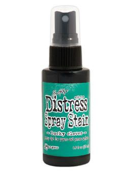 Tim Holtz Distress® Spray Stain Lucky Clover, 2oz