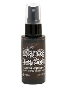 Tim Holtz Distress® Spray Stain Ground Espresso, 2oz