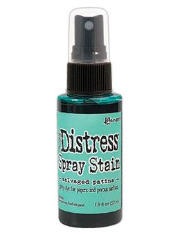 Tim Holtz Distress® Spray Stain Salvaged Patina, 2oz Sprays Distress