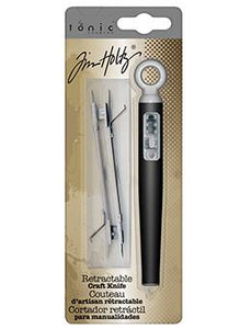 Tim Holtz® Tools by Tonic Studios - Retractable Craft Knife Tools & Accessories Tim Holtz Other