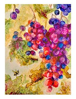 Alcohol Ink Fall Painting Workshop with Sharen AK Harris Workshop Ranger Ink