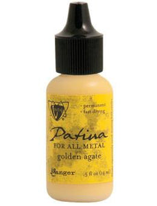 Vintaj® Patina Golden Agate, 0.5oz Paint Vintaj