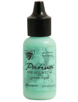 Vintaj® Patina Green Opal, 0.5oz Paint Vintaj