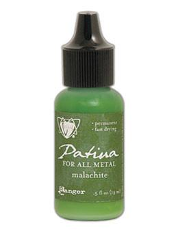 Vintaj® Patina Malachite, 0.5oz Paint Vintaj