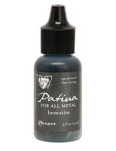 Vintaj® Patina Hematite Metallic, 0.5oz Paint Vintaj