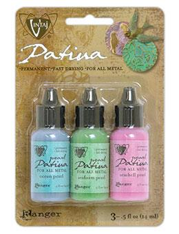 NEW! Vintaj® Patina Abalone Pearl Kit, 0.5oz