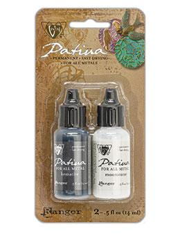 Vintaj® Patina Kit - Lunar Phase Metallic Paint Vintaj