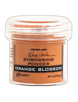 Wendy Vecchi Embossing Powder Orange Blossom, 1oz Jar