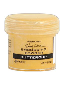 Wendy Vecchi Embossing Powder Buttercup, 1oz Jar