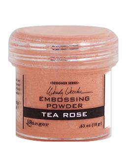 Wendy Vecchi Embossing Powder Tea Rose, 1oz Jar