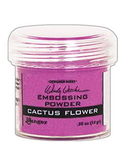 Wendy Vecchi Embossing Powder Cactus Flower, 1oz Jar