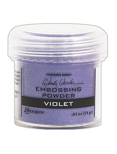 Wendy Vecchi Embossing Powder Violet, 1oz Jar Powders Wendy Vecchi