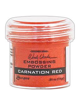 Wendy Vecchi Embossing Powder Carnation Red, 1oz Jar Powders Wendy Vecchi