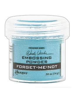 Wendy Vecchi Embossing Powder Forget-Me-Not, 1oz Jar