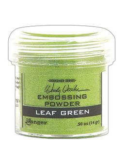Wendy Vecchi Embossing Powder Leaf Green, 1oz Jar Powders Wendy Vecchi