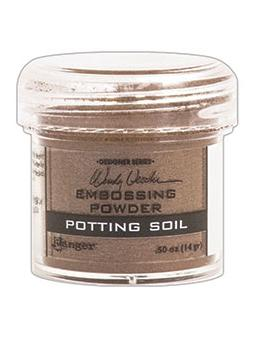 Wendy Vecchi Embossing Powder Potting Soil, 1oz Jar Powders Wendy Vecchi