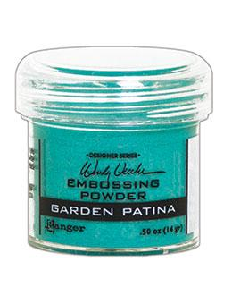 Wendy Vecchi Embossing Powder Garden Patina, 1oz Jar Powders Wendy Vecchi