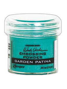 Wendy Vecchi Embossing Powder Garden Patina, 1oz Jar