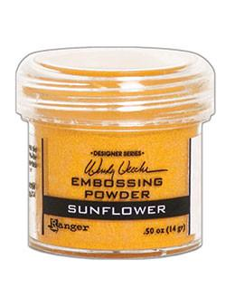 Wendy Vecchi Embossing Powder Sunflower, 1oz Jar