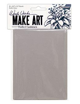 Wendy Vecchi Perfect Cardstock Grey Panels 10pk Surfaces Wendy Vecchi