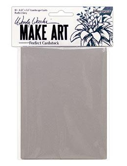 NEW! Wendy Vecchi Perfect Cardstock Grey Cards 100lb