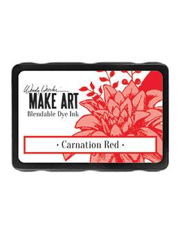 Wendy Vecchi Blendable Dye Ink Pads - Carnation Red Ink Pad Wendy Vecchi