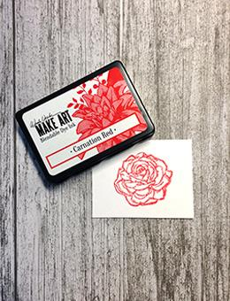 Wendy Vecchi Blendable Dye Ink Pads - Carnation Red