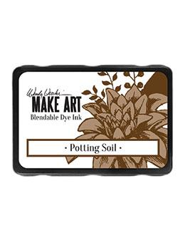 NEW! Wendy Vecchi Blendable Dye Ink Pads Potting Soil