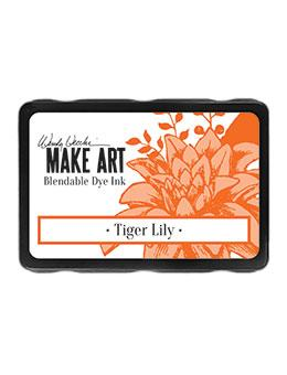 Wendy Vecchi Blendable Dye Ink Pads - Tiger Lily Ink Pad Wendy Vecchi