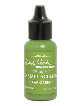 Wendy Vecchi Enamel Accent Leaf Green, 0.5oz