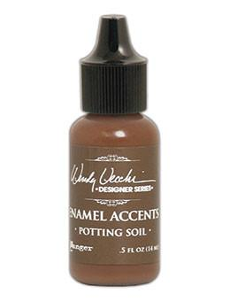 Wendy Vecchi Enamel Accent Potting Soil, 0.5oz Paint Wendy Vecchi