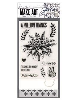 Wendy Vecchi Stamp, Die & Stencil Set - A Million Thanks