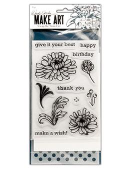 Wendy Vecchi Stamp, Die & Stencil Set - Thank You Set Wendy Vecchi