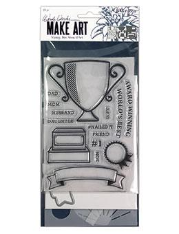 Wendy Vecchi Stamp, Die & Stencil Set - Award Winning Set Wendy Vecchi