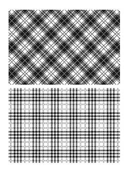 Tim Holtz Stampers Anonymous Cling Mount Stamps - Perfect Plaids Stamps Tim Holtz Other